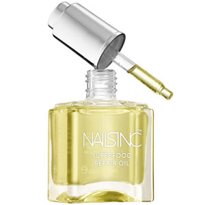 najlepsza odżywka do paznokci Nails Inc. Superfood Nail and Cuticle Repair Oil