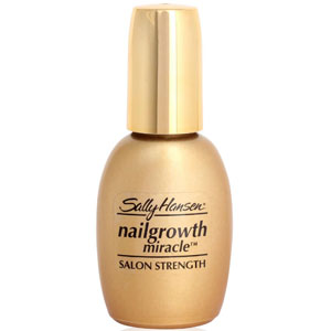 bezbarwny kolor lakieru do paznokci Sally Hansen Nailgrowth Miracle