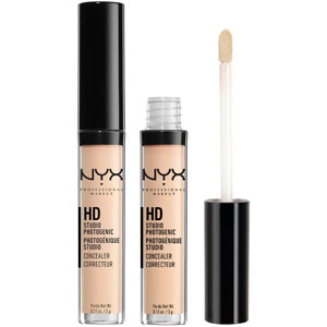 sińce pod oczami NYX Professional Makeup HD Photogenic Concealer Wand