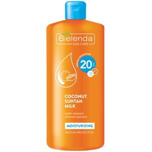 Bielenda Coconut Suntan Milk SPF 20
