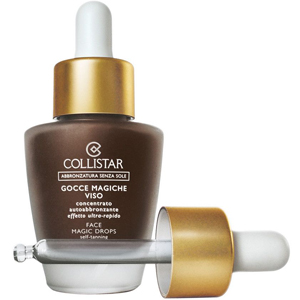 collistar face magic drops self tanning