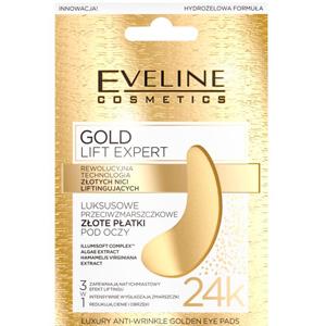 Eveline Cosmetics Gold Lift Expert Złote Płatki pod Oczy