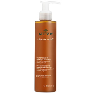 nuxe reve de miel face cleansing and makeup removing gel żel do mycia twarzy