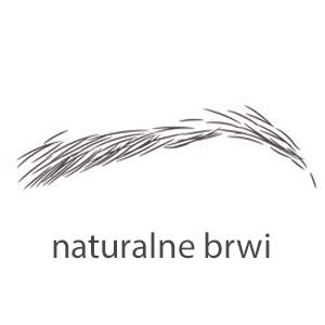 naturalne brwi