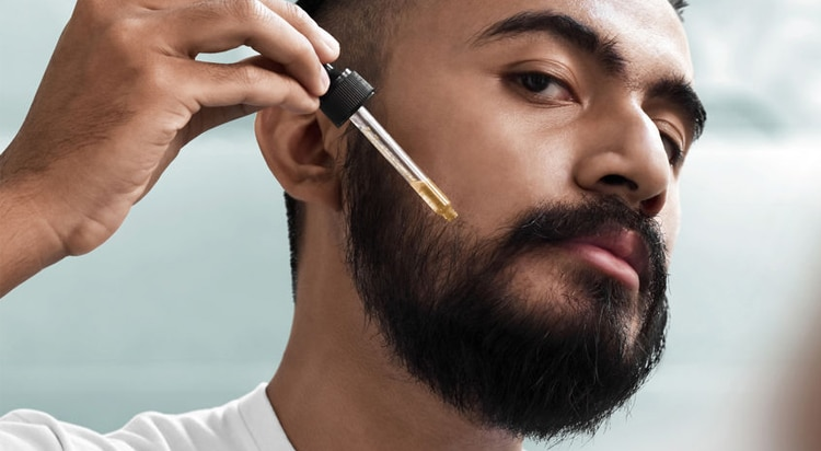 nakładaj olejki do brody