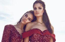 jaki makijaż do czerwonej sukienki