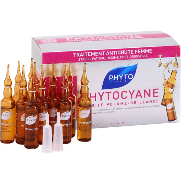 Phyto Phytocyane Densifying Anti-Hair Loss Treatment 12 Ampoules